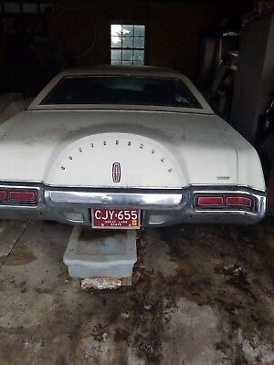 1972 Lincoln Mark Series  1972 Lincoln Mark iv Estate Find. Covered for over 20 years.