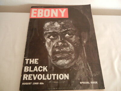 "August 1969 Special Issue Of ""ebony"" Magazine-The Black Revolution (114)"