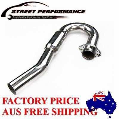 Stainless BOMB Exhaust Head Header Pipe For 2006-2010 2007 08 09 KAWASAKI KX450F