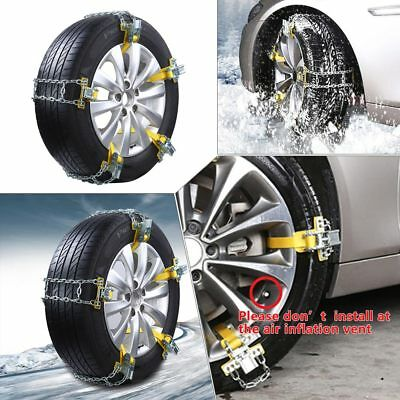 S/M/L Size Car Truck Tire Chain Non-Slip Snow Slope Mud Ice Tire Driving Safe US