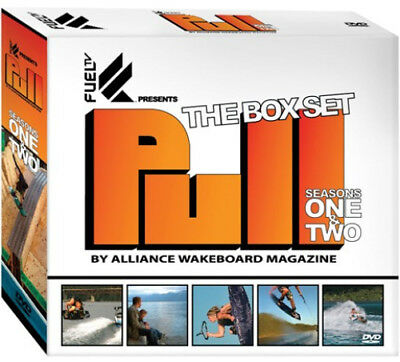 PULL The Box Set 5-Disc DVD Sealed NEW Fuel TV Alliance Wakeboard Magazine Surf