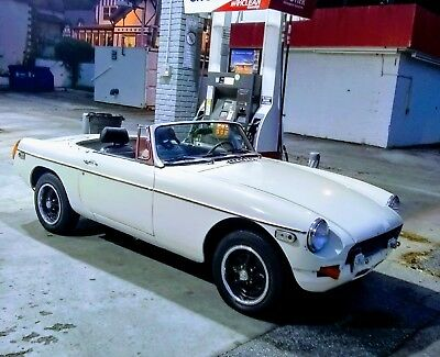 1977 MG MGB black THE REAL McCOY as once owned by a member of the famous McCoy family NO RESERVE!