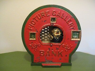 """""""PICTURE GALLERY"""" Mechanical Bank"""