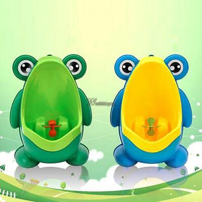 Baby Boy Frog Cartoon Wall-mounted Toilet Standing Urinal Sanitary Potty WT88 01