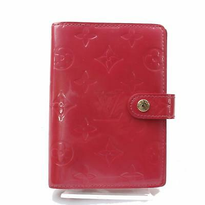 Authentic Louis Vuitton Diary Cover Agenda PM Pinks Vernis 361175