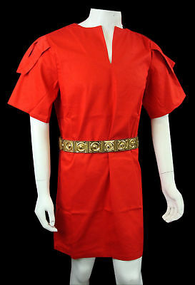 Medieval Knight Hospitaller Crusader Surcoat,Tunic With Red Cross LARP reter