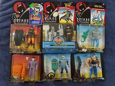 Batman The Animated Series Action Figures ~ Lot of 6~1992-1994 New MOC Vintage