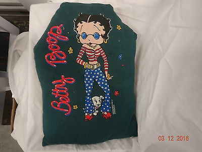 Collectible Authentic Betty Boop Stars And Stripes Decorator Throw Pillowcushion