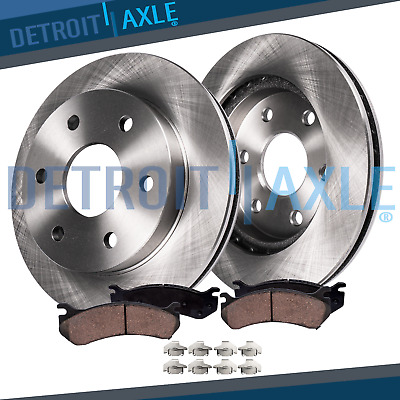 Front Brake Rotors & Ceramic Pad 2010 2011 2012 2013 2014 2015 2016 Cadillac SRX