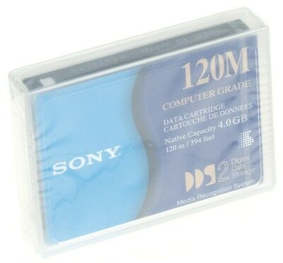 Sony DGD120M dat Tape Patrone DDS-2 4GB/8GB 120M