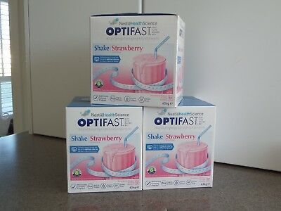 OPTIFAST Diet shake strawberry