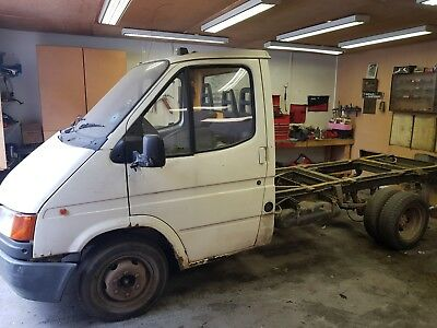 transit pickup mk3 chassis cab with power steering