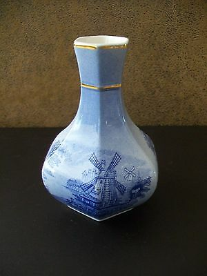 Small Royal Worcester Palissy Vase Windmill 399 Picclick Uk