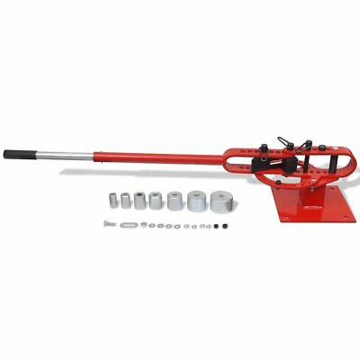 Manually Operated Bench-Mounted Steel Pipe Bending Pipe Bar Tube Bender Tool