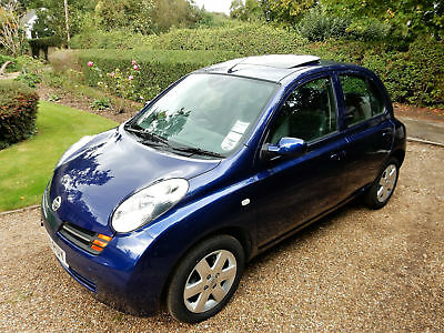 NISSAN MICRA 1.4SE 16v 5 DOOR MANUAL, ONE FAMILY OWNED AND 10250 MILES FROM NEW!