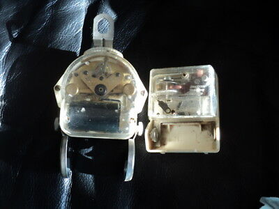2 Vintage Quartz Junghans German Movements 1 is W285 & another for parts