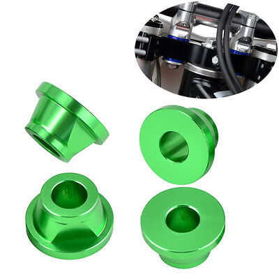 CNC Stem Handle Bar Killer Clamp Solid Cone Set for Kawasaki KX250F 450F 250 450