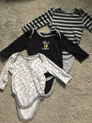 long sleeve vests 6-9 months