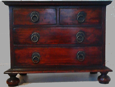 William and Mary yew chest