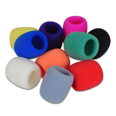 Sponge 5 Colors Karaoke Windscreen  Filter Foam Wind Shield Mic Cover