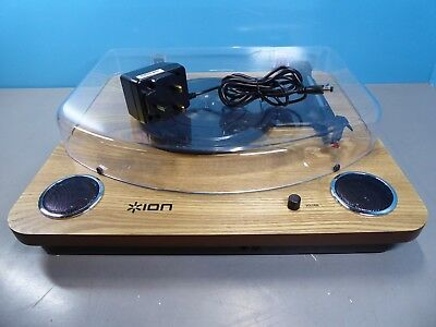 ION Audio Max LP Turntable Wood Brown Grade C (472998)