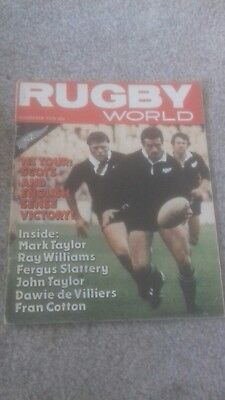 Rugby World Magazine November 1979
