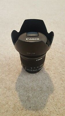 Canon 10-18mm f/4.5-5.6 IS STM Ultra Wide Angle Lens