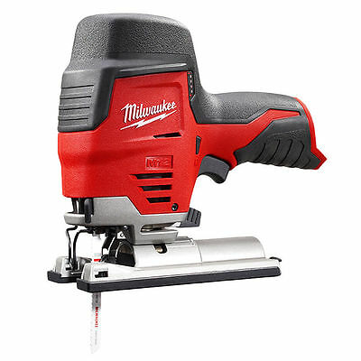 Milwaukee 2445-20 M12 12V Cordless Lithium-Ion High Performance Jigsaw Bare Tool