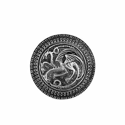Game of thrones brooch song of ice and fire vintage targaryen dragon badge pin