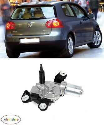 Volkswagen Golf V Mk5 Hatchback 2004 - 2009 New Rear Windscreen Wiper Motor