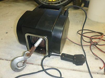 electric boat trailer winch 12v