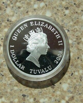 2009 Famous Battles in History Gettysburg 1 oz silver proof coin in original box