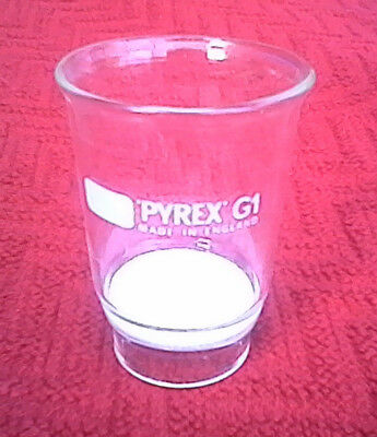 PYREX BUCHNER SINTERED FILTER GRADE 1, borosilicate fritted funnel