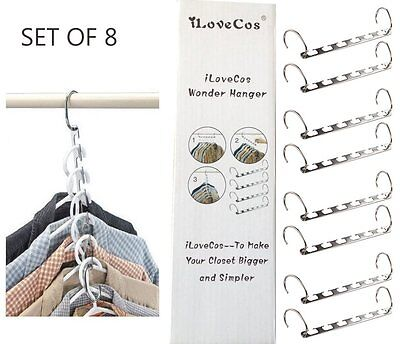 Roll over image to zoom in   iLoveCos Magic Closet Clothes Hangers,