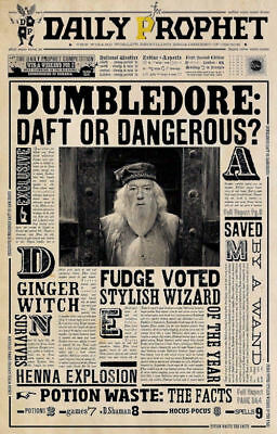 """Harry Potter- The Daily Prophet ( 11"""" x 17"""" ) Collector's Poster Print - B2G1F"""