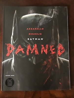 BATMAN DAMNED 1 Cover A First Printing  2018 Black Label