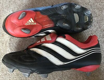 502acde74 Adidas F50 TRX HG Red Moulded Stud Boys Kids Football Boots Trainers UK10-5