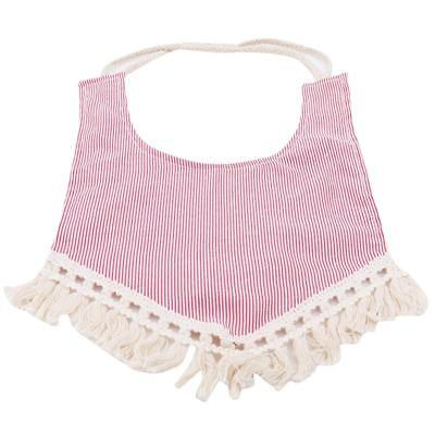 Baby Fringe Boho Bibs by Tractors & Fairies Bibs Kid Children Saliva Towel LIN