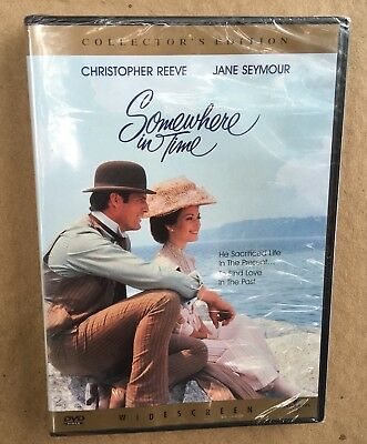 Somewhere In Time Collector's Edition DVD 2000 Widescreen Christopher Reeve New
