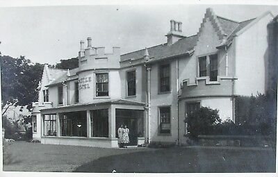 The Castle Hotel Largs Ayrshire 1939 Rp Pc
