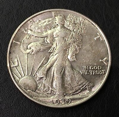 1939-P Walking Liberty Half Dollar 50C - No Reserve