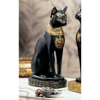 Design Toscano Egyptian Cat Goddess Bastet Statue: Bastet with Earrings