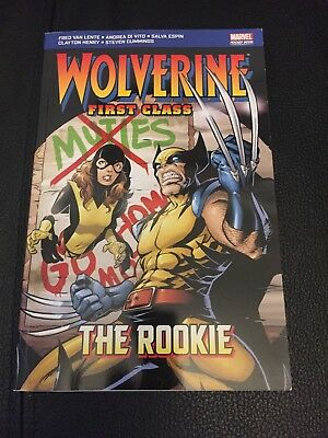 Wolverine First Class The Rookie Marvel Pocket Book Comics