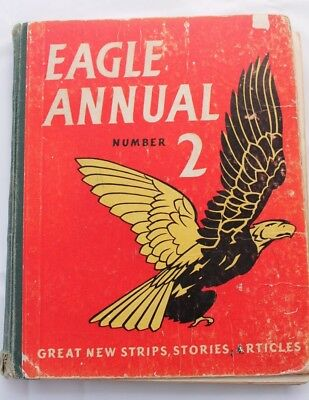 Eagle Annual Number 2 published by Hudson Press Ltd. in London in 1952