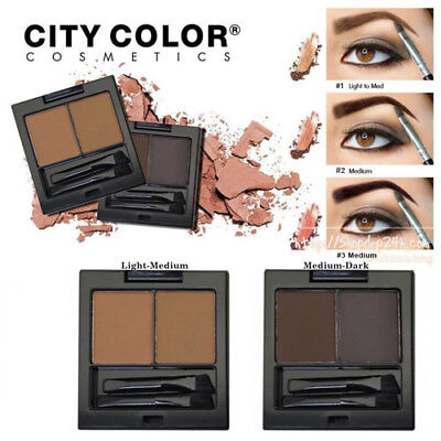City Color Bold Brow Kit | Eyebrow Powder Kit ( Pick Your Shade )