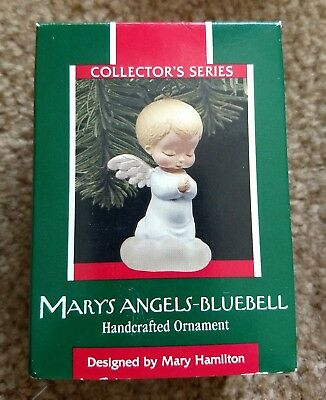 Hallmark Mary's Angels Bluebell 1989 Ornament 2nd in the Mary Hamilton series