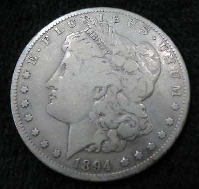 1894-s Morgan Silver Dollar * Key Date * Great for a Book * 90% Silver