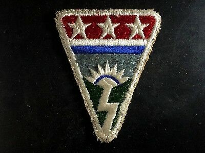 WWII Patch US Army CBI Ledo Road China Burma India SSI Cut Edge Khaki