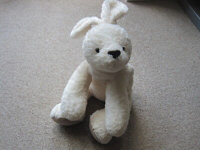 Mothercare Baby Cream Bunny Rabbit Soft Toy  Lovely & Soft