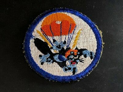 WWII Patch 503rd Parachute Infantry Army Battalion Red Mouth Disney Insignia